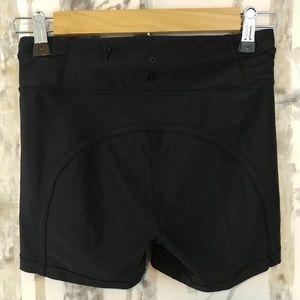 Lululemon cycle/biker athletic shorts